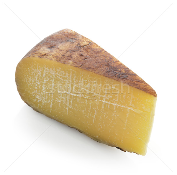 Wedge of Hard Cheese  Stock photo © saddako2