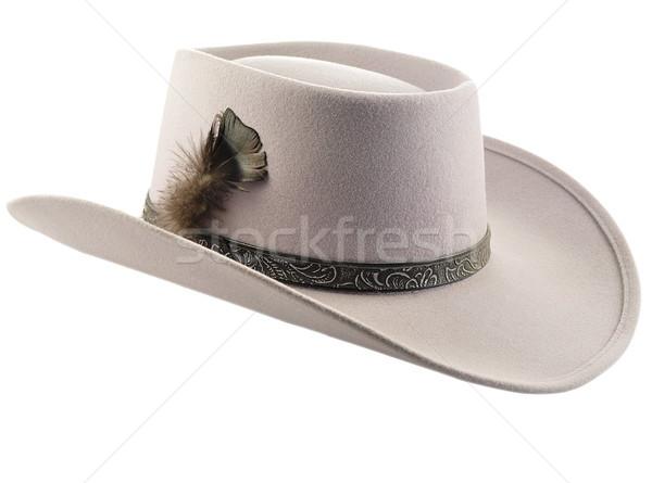 ковбойской шляпе Перу фон мальчика Cowboy Gear Сток-фото © saddako2