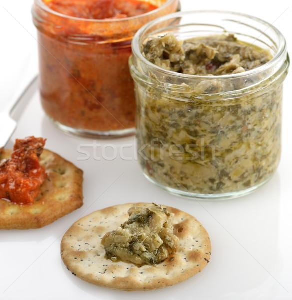 Spreads With Crackers Stock photo © saddako2