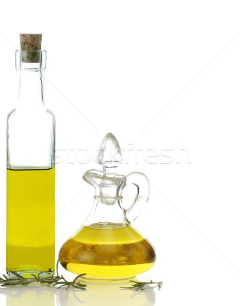 食用油 ボトル ガラス ボトル 黄色 ストックフォト © saddako2