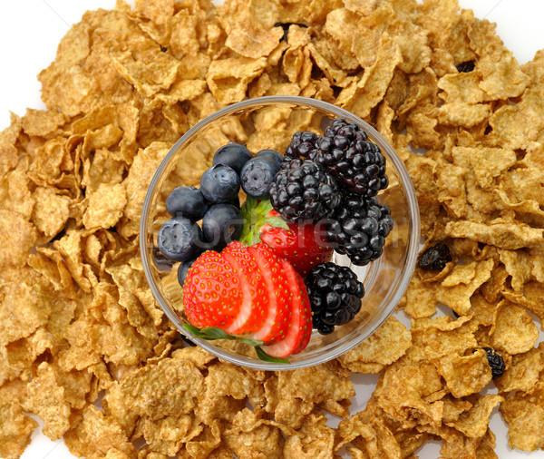 bran and raisin cereal Stock photo © saddako2