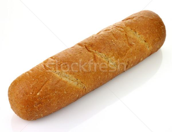 цельной пшеницы буханка хлеб зерна коричневый свежесть Сток-фото © saddako2