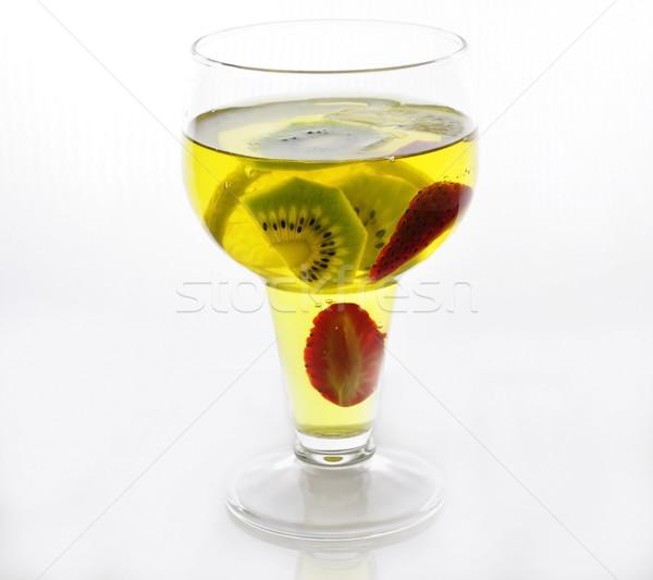 yellow jello Stock photo © saddako2