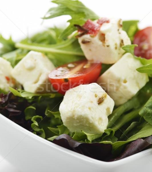 春 サラダ フェタチーズ フェタチーズ プレート 唐辛子 ストックフォト © saddako2