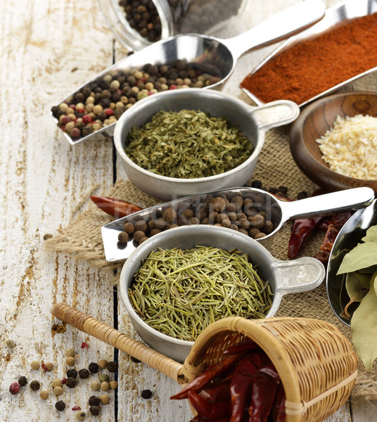 Spices Assortment Stock photo © saddako2