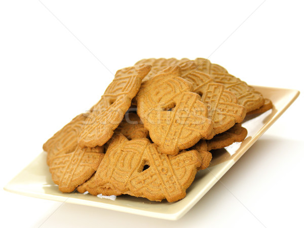spiced cookies on a plate  Stock photo © saddako2