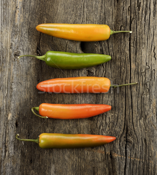 Colorful Hot Pepper Stock photo © saddako2