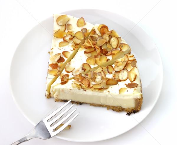 white chocolate cheesecake Stock photo © saddako2