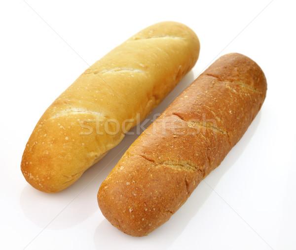 Stockfoto: Witte · donkere · brood · brood · graan · bruin