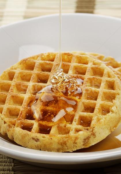 Acero sciroppo miele bianco piatto Foto d'archivio © saddako2