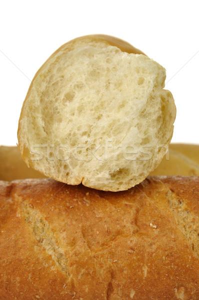 Blanco oscuro pan pan grano marrón Foto stock © saddako2