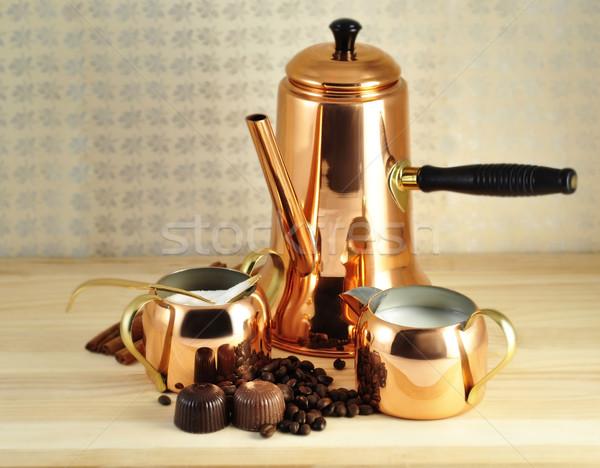 vintage coffee set  Stock photo © saddako2