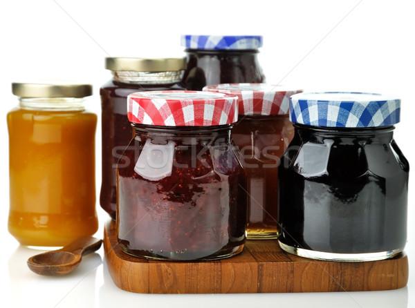 jam in the jars Stock photo © saddako2