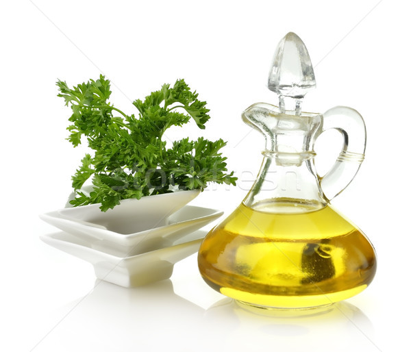 Cooking Oil And Parsley  Stock photo © saddako2