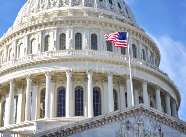 Hill budynku Washington DC shot domu Zdjęcia stock © saddako2