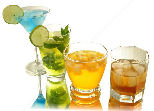Foto stock: Frio · bebidas · festa · fruto · gelo