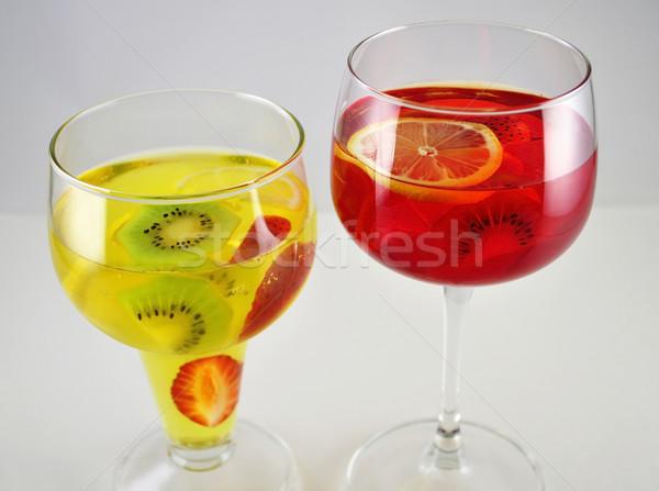 red and yellow jello  Stock photo © saddako2