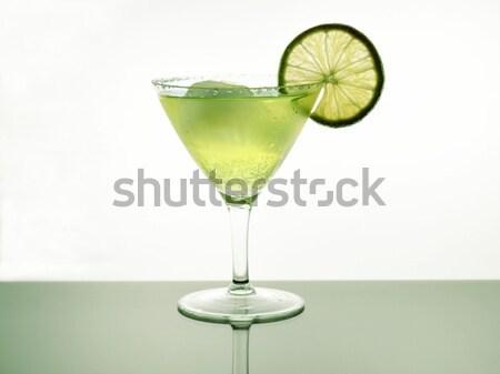 Frescos bebida fría frío cóctel limón hielo Foto stock © saddako2