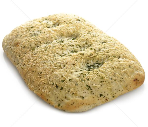 パン 新鮮な ガーリックブレッド チーズ ハーブ クローズアップ ストックフォト © saddako2
