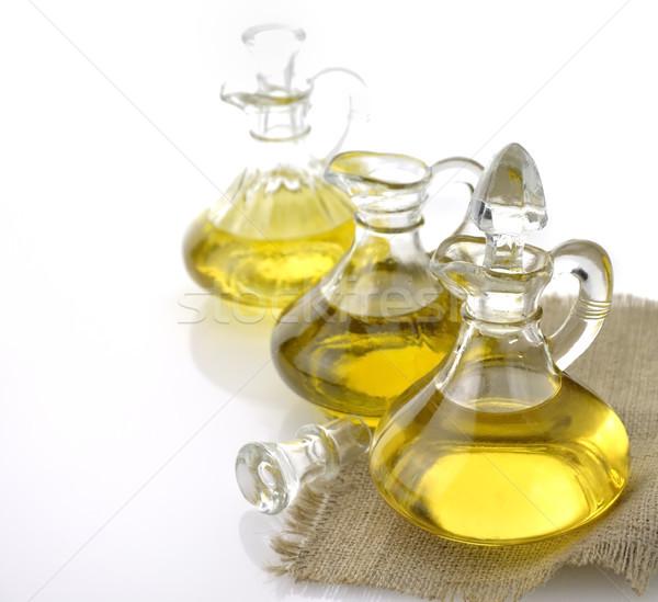 étolaj olajbogyó kukorica zöldség üveg üvegek Stock fotó © saddako2
