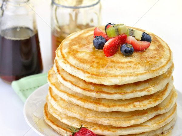 stack of pancakes Stock photo © saddako2