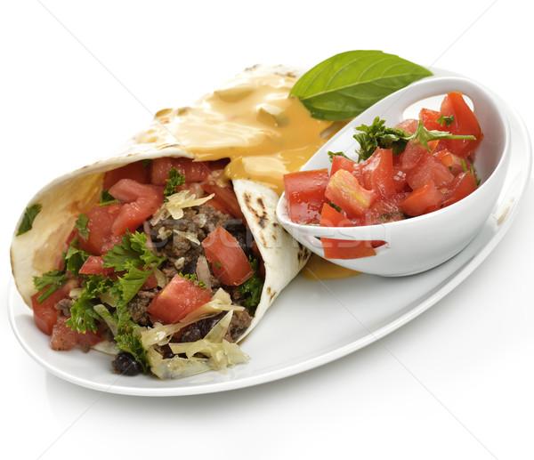 Burrito Stock photo © saddako2