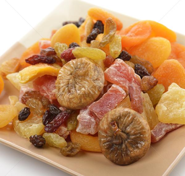 Séché tropicales fruits plat rouge Photo stock © saddako2