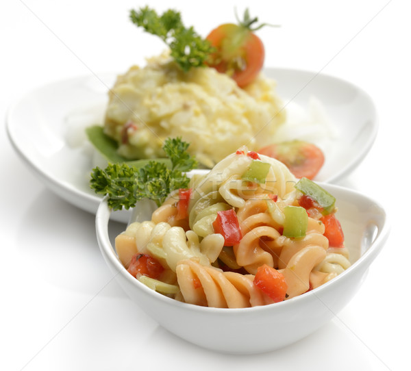 Potato And Macaroni Salad Stock photo © saddako2