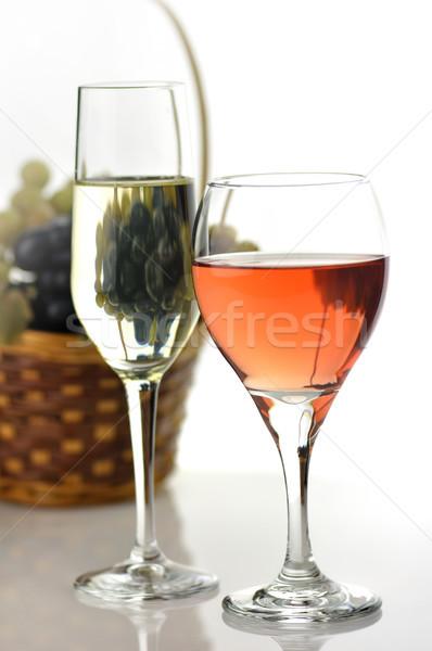 wine glasses Stock photo © saddako2