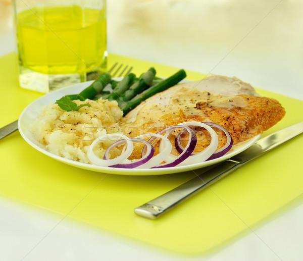 turkey dinner Stock photo © saddako2