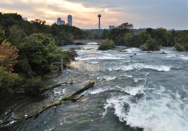 Niagara River.USA Stock photo © saddako2