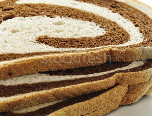 Centeno remolino pan alimentos frescos Foto stock © saddako2