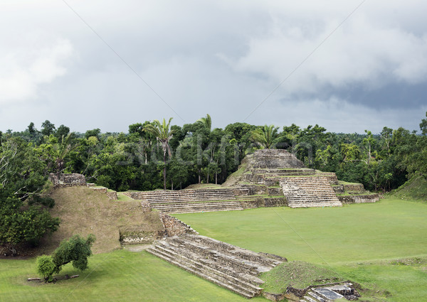 Altun Ha Mayan Ruins in Belize Stock photo © saddako2