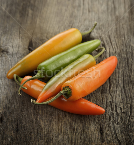 Red And Green Hot Pepper Stock photo © saddako2