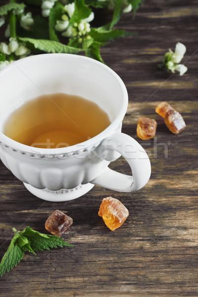 nettle tea Stock photo © saharosa