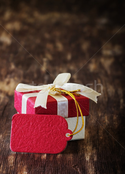 gift box Stock photo © saharosa