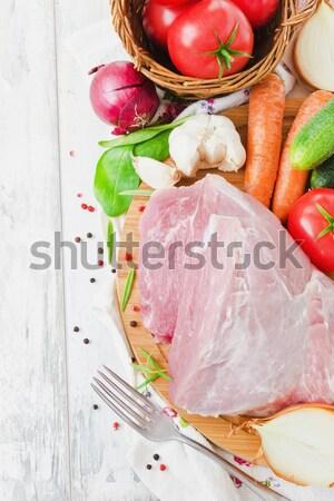 large piece of meat  Stock photo © saharosa