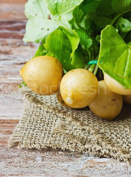 white radish Stock photo © saharosa