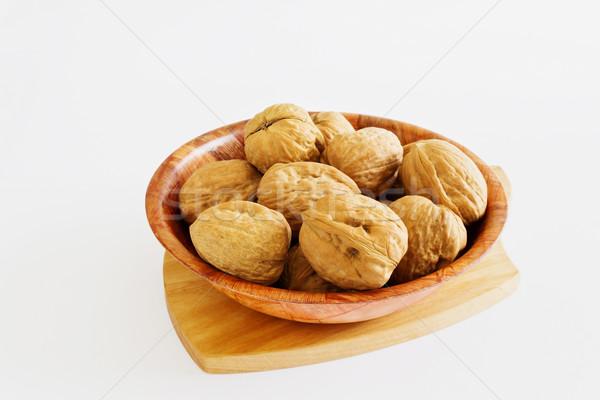 walnuts in a bowl  Stock photo © saharosa