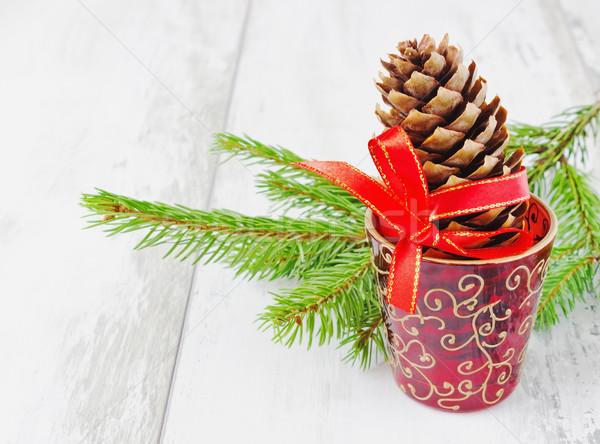 christmas decorations Stock photo © saharosa