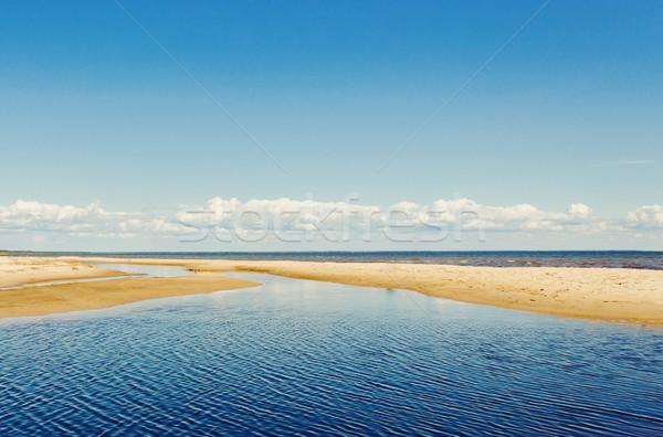 baltic beach Stock photo © saharosa