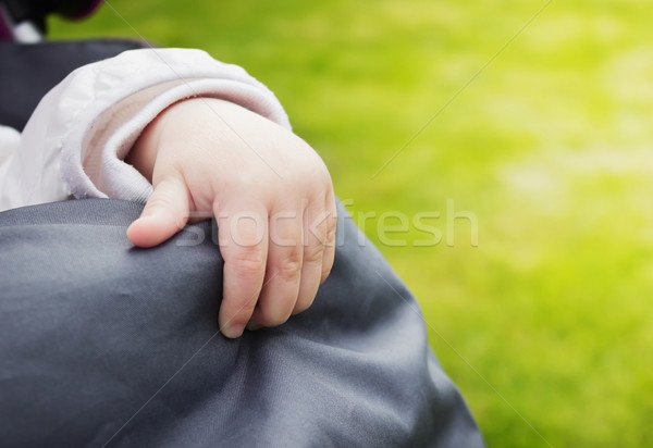 hand of a little girl Stock photo © saharosa