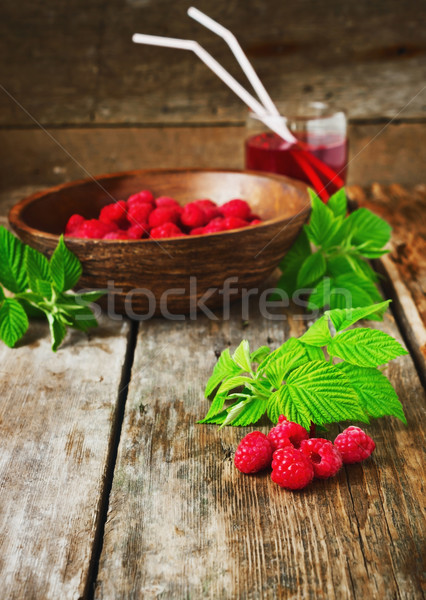 vitamin breakfast Stock photo © saharosa