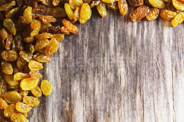 appetizing raisin Stock photo © saharosa