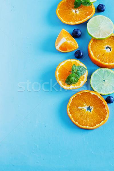 цитрусовые синий диета Top Сток-фото © saharosa