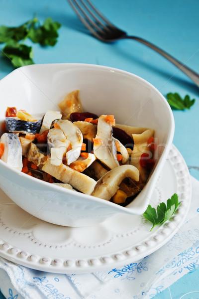 pickled herring Stock photo © saharosa