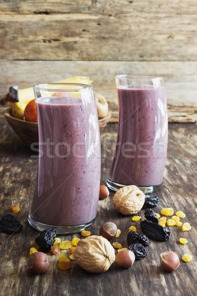 fresh fruit smoothies Stock photo © saharosa