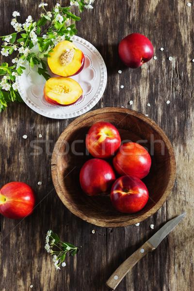 Juteuse vieux bois santé régime alimentaire Photo stock © saharosa