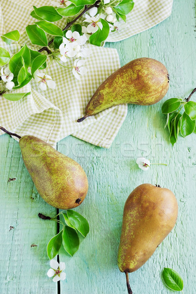 ripe pears Stock photo © saharosa