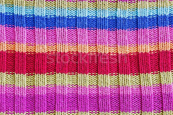 knitted background Stock photo © saharosa
